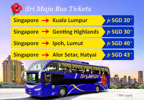Sri Maju Promo Bus Tickets