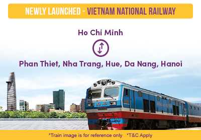 Vietnam National Railway is Newly Launched on Easybook