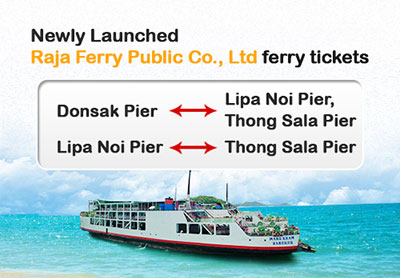 Newly launched Raja Ferry Public Ferry Tickets
