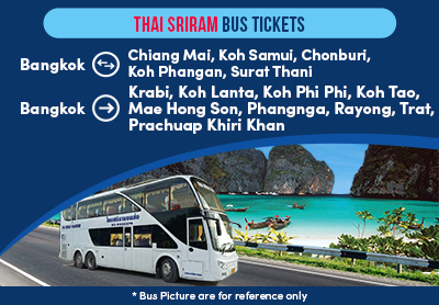 Newly launched Thai Sriram Bus Tickets