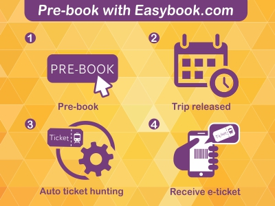 Easybook®|Book Ticket Online: Bus,Train,Ferry,Car -Largest in SEAsia