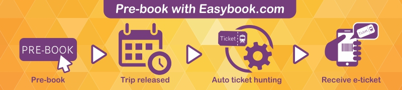 Easybook®|Book Ticket Online: Bus,Train,Ferry,Car -Largest