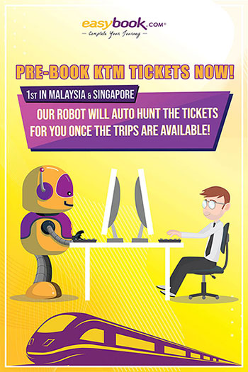 Something you should know about Pre-book (KTM Train)